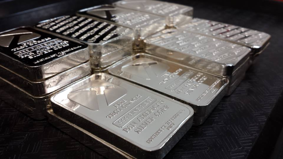 Five Ounce Silver Bars